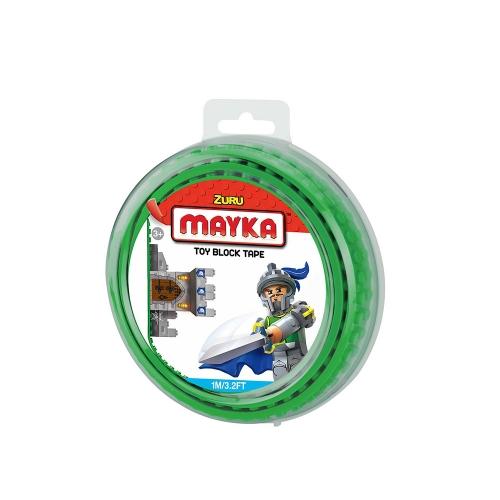 [30%할인] 맥스블럭 놀이판롤 1m 2Stud (메이카블럭 1m 2Stud) / 녹색(Dark Green) / 쿠폰적용불가