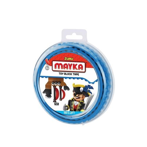 [30%할인] 맥스블럭 놀이판롤 1m 2Stud (메이카블럭 1m 2Stud) / 파랑(Blue) / 쿠폰적용불가
