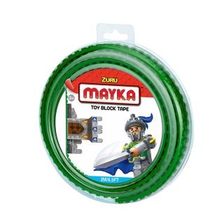 [30%할인] 맥스블럭 놀이판롤 2m 2Stud (메이카블럭 2m 2Stud) / 녹색(Dark Green) / 쿠폰적용불가