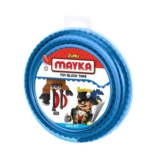 [30%할인] 맥스블럭 놀이판롤 2m 2Stud (메이카블럭 2m 2Stud) / 파랑(Blue) / 쿠폰적용불가