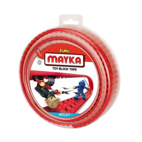 [30%할인] 맥스블럭 놀이판롤 2m 4Stud (메이카블럭 2m 4Stud) / 빨강(Red) / 쿠폰적용불가