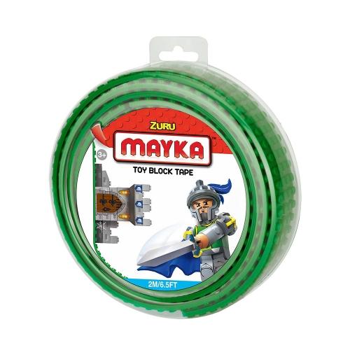 [30%할인] 맥스블럭 놀이판롤 2m 4Stud (메이카블럭 2m 4Stud)/ 녹색(Dark Green) / 쿠폰적용불가