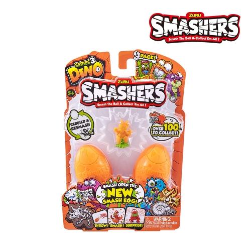 SMASHERS(스매셔스) 공룡알깨기3팩
